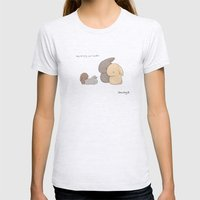 Siblings Womens Fitted Tee Ash Grey SMALL