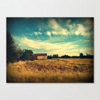 August drive III Canvas Print