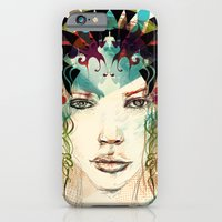 princess iPhone & iPod Cases featuring princess by Irmak Akcadogan