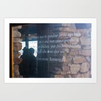 Theodore Roosevelt Grand Canyon Quote Art Print