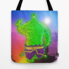 Incredible Hulk Tote Bag