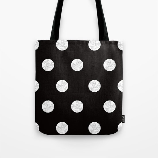 Polka like you mean it Tote Bag