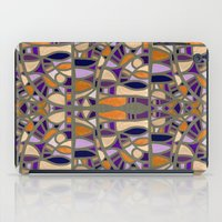 Gaudy Gaudi Orange & Pur… iPad Case