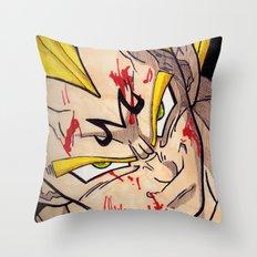 Vegeta Throw Pillow
