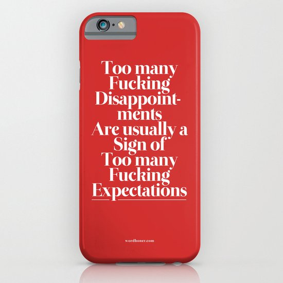 Disappointments iPhone & iPod Case
