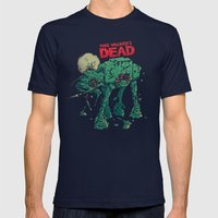 Walker's Dead Mens Fitted Tee Navy SMALL