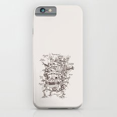 Howl's Moving Castle Plan iPhone 6 Slim Case
