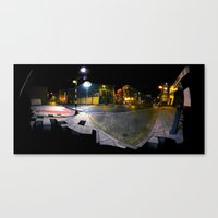 Birmingham Streets  Canvas Print