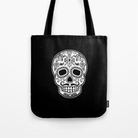 Mexican Skull - Black Ed… Tote Bag