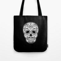 Mexican Skull - Black Ed… Tote Bag