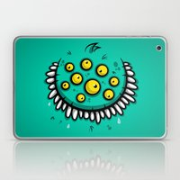 FUNNY EYEBALLS Laptop & iPad Skin