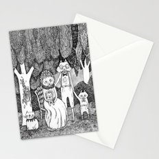 Fox Family Stationery Cards