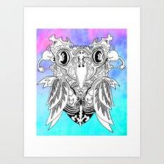 Owly Art Print