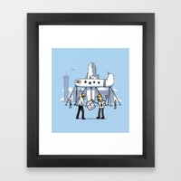 A Matter of Perspective Framed Art Print