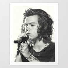 Harry Styles - 03 Art Print