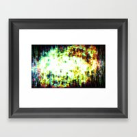 You Are Here, As Are We … Framed Art Print