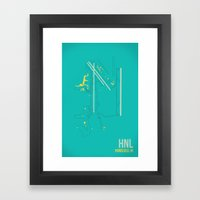 HNL Framed Art Print