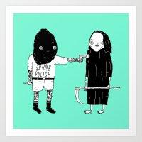 Rob Death Art Print