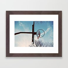 Hoop Framed Art Print