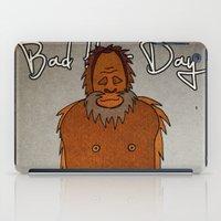 bad hair day no:4 / Bigfoot iPad Case