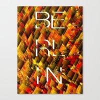 CAMO BERLIN Canvas Print