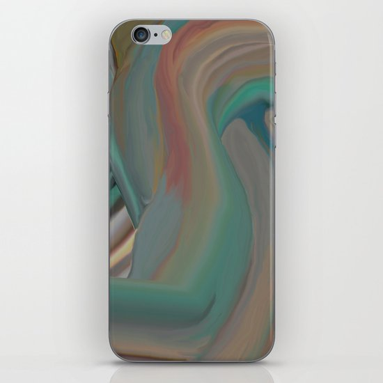 Running From Death iPhone & iPod Skin