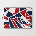 Red White & Blue Laptop Sleeve