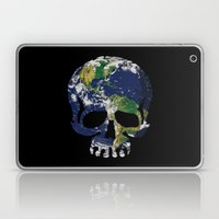Skull Earth Laptop & iPad Skin