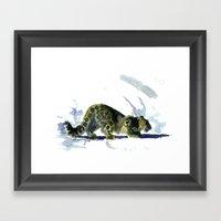 Spotty Framed Art Print