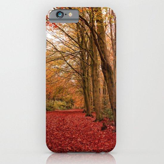 Autumn Walk iPhone & iPod Case