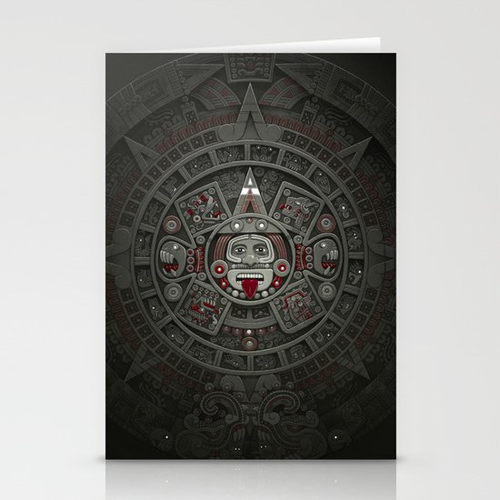 Stone of the Sun I. Stationery Card