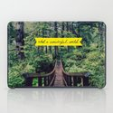 What a Wonderful World iPad Case