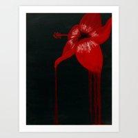 Hibiscus Bloom Art Print