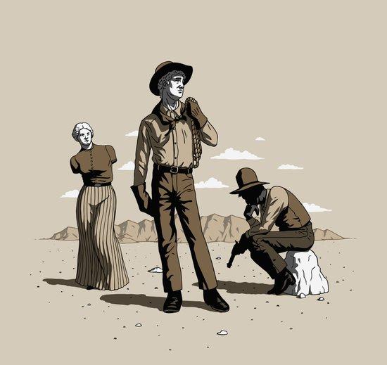 Stone-Cold Western Art Print