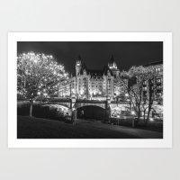 Sparkling Ottawa Art Print