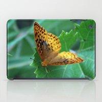 Great Spangled Fritillary Butterfly iPad Case