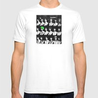 Turning Heads Mens Fitted Tee White SMALL