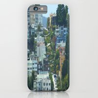 iPhone & iPod Case featuring Lombard Street, San Francisco by Elizabeth Tompkins