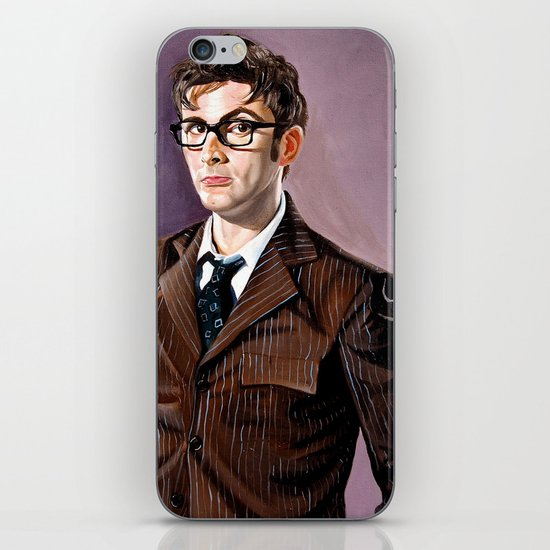 The Tenth Doctor iPhone & iPod Skin