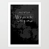 Harry Potter Curses: Morsmordre Art Print