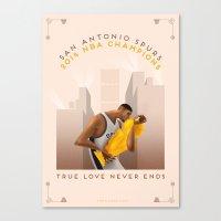 NBA PLAYOFFS 2014 - THE … Canvas Print