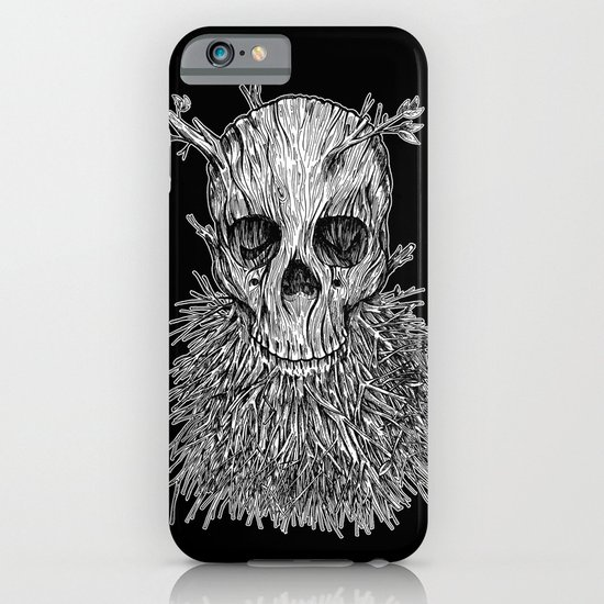Lumbermancer B/W iPhone & iPod Case