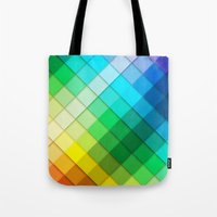 Colourful Squares Tote Bag
