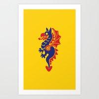 The Black Knights (1) Art Print