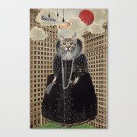 Animal Collection -- Los… Canvas Print