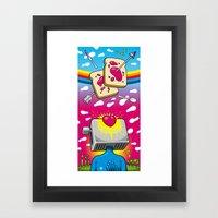 Breakfast Nirvana Framed Art Print
