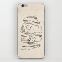 Twister Skull iPhone & iPod Skin