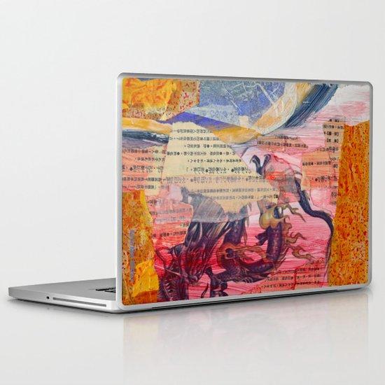Collage Love - Zhong Long Laptop & iPad Skin