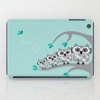 Owl Family  iPad Case