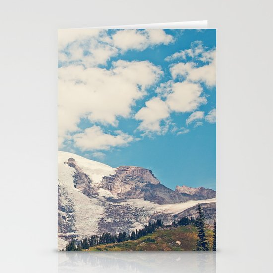 Mount Rainier Stationery Card